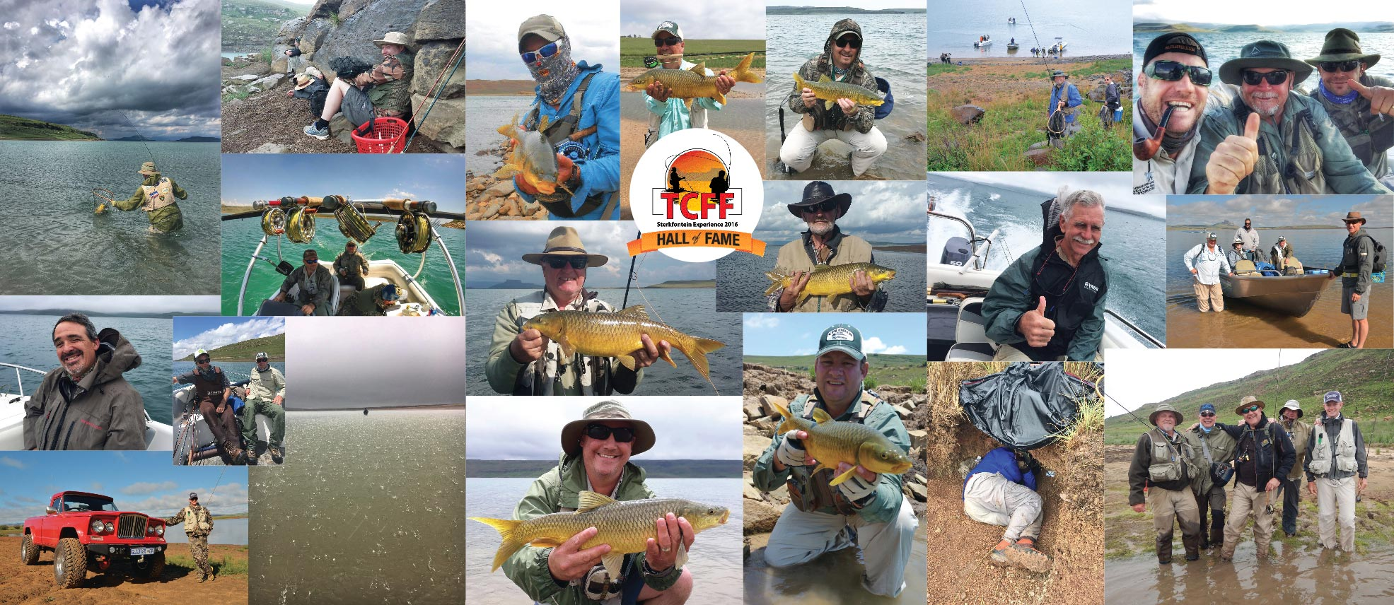 Sterkfontein Yellowfish Experience Collage